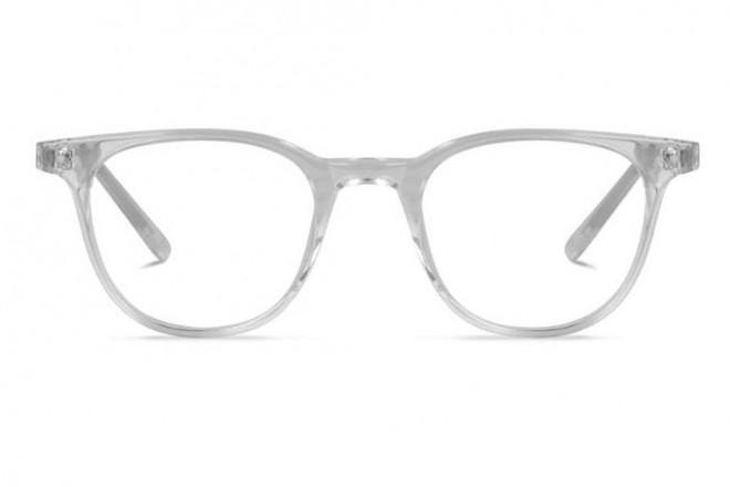 Lunettes de vue Battatura Ottavio 46mm Italian Crystal White