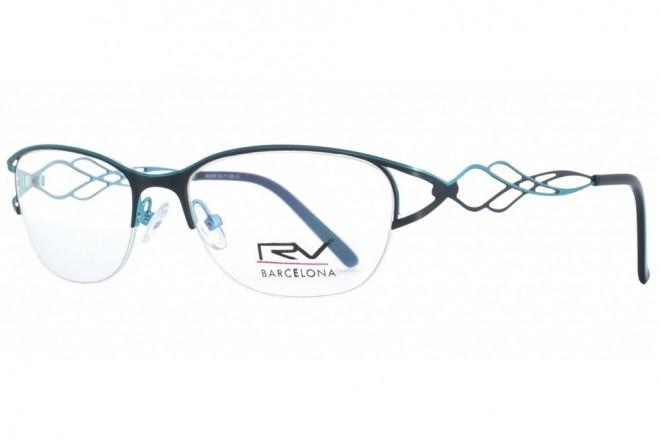 Lunettes de vue h.Mahéo RV516 - 53mm - Turquoise / Noir