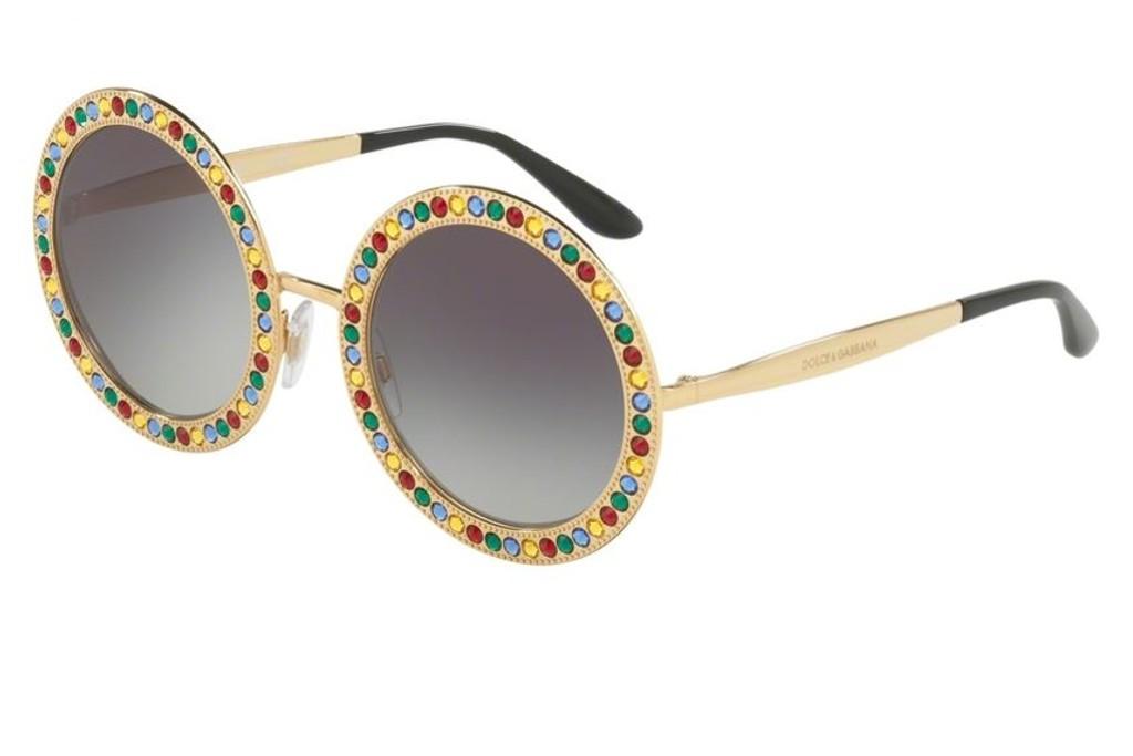 72ee4ba913 Lunettes de soleil Dolce Gabbana DG 2170B-02/8G 51mm Gold - Gweleo