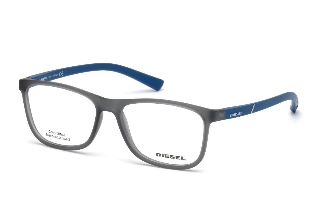 Lunettes de vue Diesel DL 5176-A20 54mm Gris bleu - Gweleo 090c8c16b6a8
