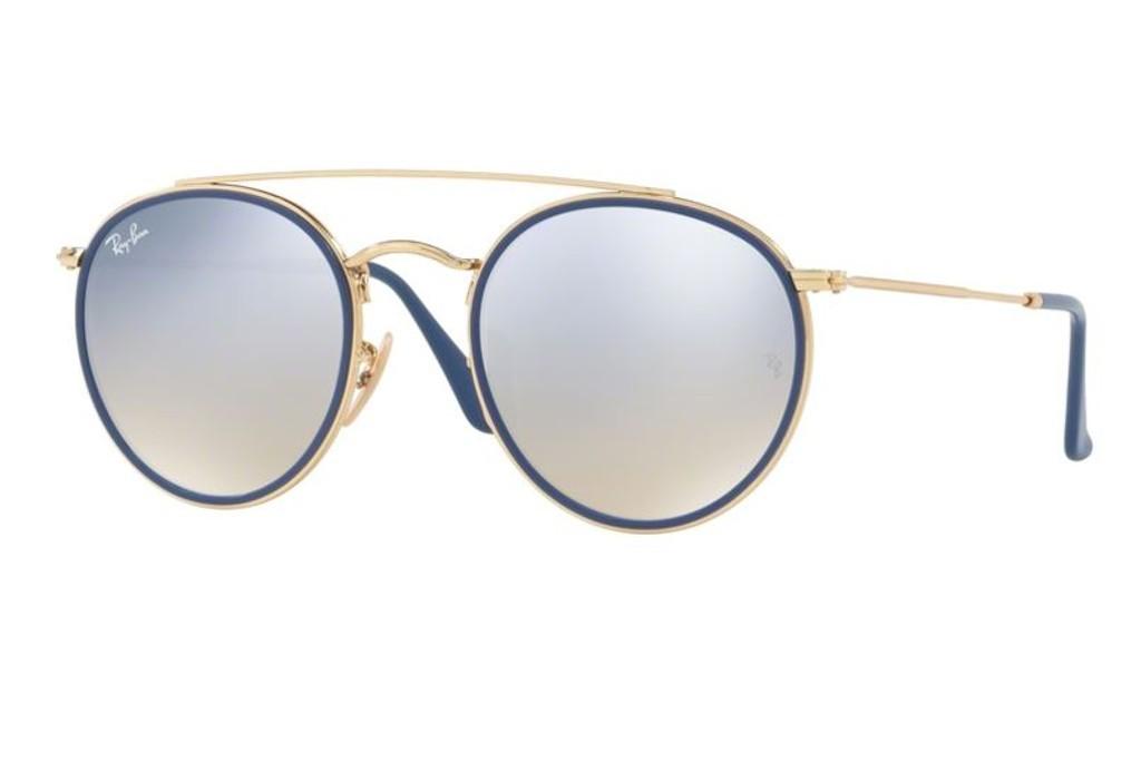56ce05523e875e Lunettes de soleil Ray-Ban RB 3647N-001 9U 51mm Gold blue - Gweleo