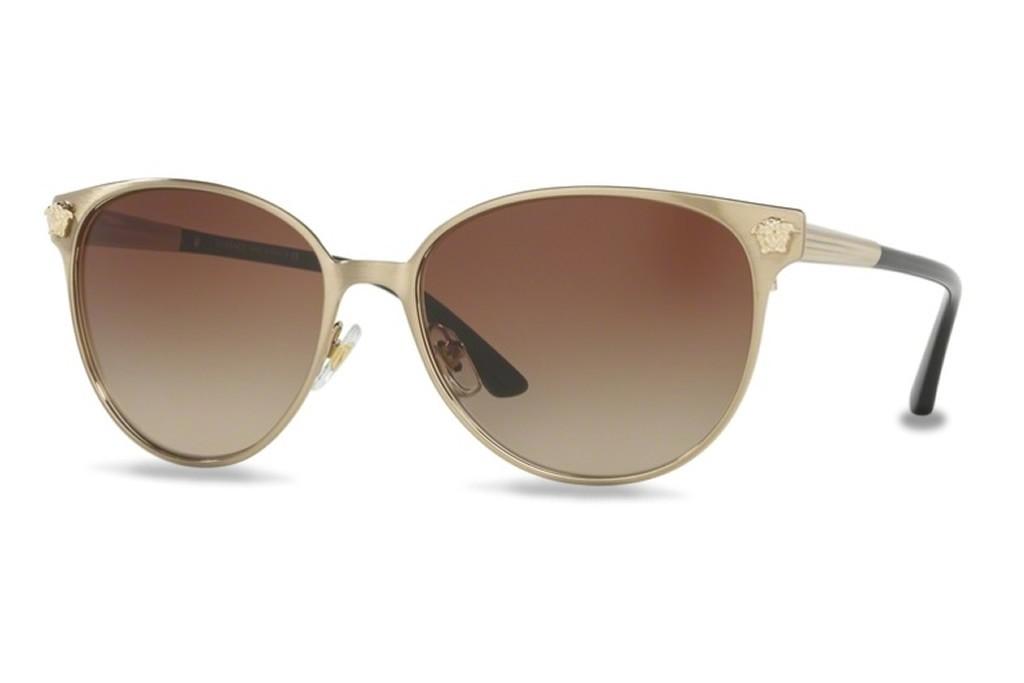 b1d9c95ee4f6 Lunettes de soleil Versace VE2168-133913 57mm Brushed Pale Gold - Gwel