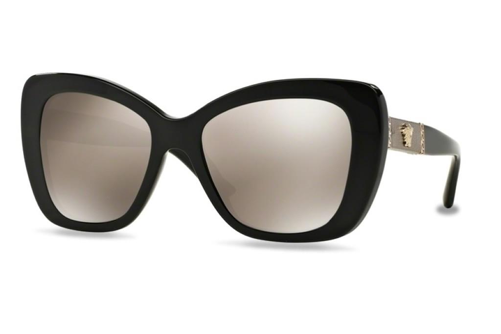 6ce8f82c9e40 Lunettes de soleil Versace VE4305Q-GB15A 54mm Black - Gweleo