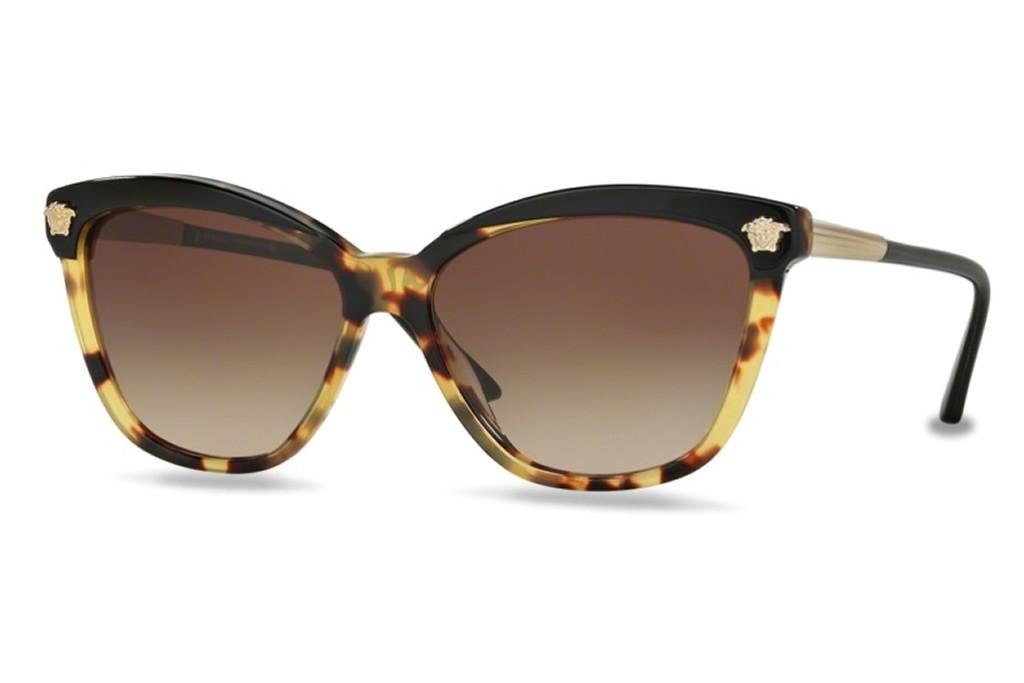 VE4313 Gweleo Versace soleil 57mm Lunettes de 517713 BlackHavana q8t4wxH7x