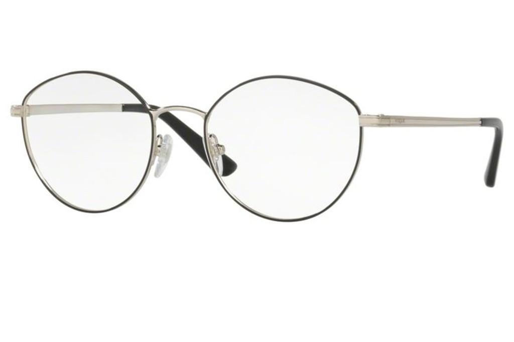 Lunettes de vue Vogue VO 4025-352 51mm Black Silver - Gweleo c5daba7ddd2a
