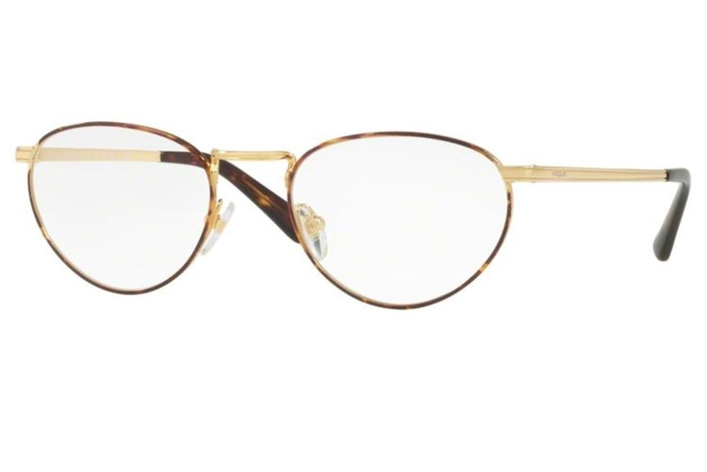 dc81704aa52817 Lunettes de vue Vogue VO 4084-5078 52mm Gold Havana - Gweleo