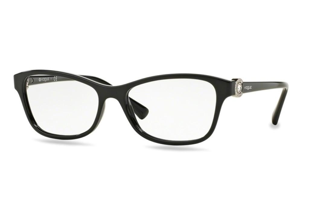 a33544dc95 Lunettes de vue Vogue VO 5002B-W44 52mm Black - Gweleo
