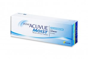 Verres de contact 1 Day Acuvue Moist For Astigmatism 30l