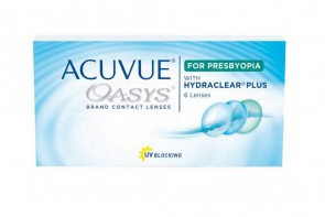 Lentilles correctrice Acuvue Oasys For Presbyopa 6l