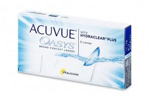 Verres de contact Acuvue Oasys 6l