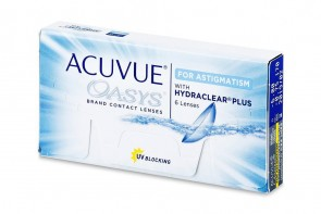 Verres de contact Acuvue Oasys For Astigmatism 6l