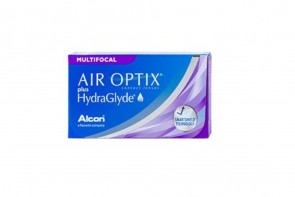 Air Optix Plus Hydraglyde Multifocal 3L