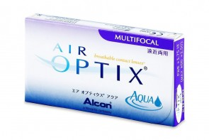 Verres de contact Air Optix Aqua Multifocal 6l
