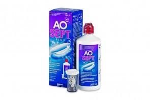 Produits d'entretien pour lentilles de contact Aosept Plus - Flacon de 360ml