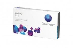 Verres de contact Biofinity Toric 6l