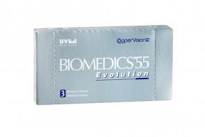 Verres de contact Biomedics 55 Evolution 3l