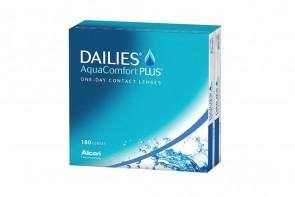 Verres de contact Dailies Aqua Comfort Plus 180l