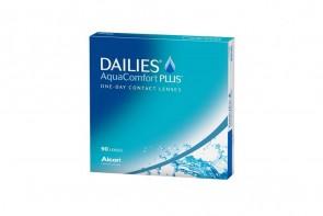 Verres de contact Dailies Aqua Comfort Plus 90l