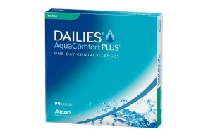 Verres de contact Dailies Aqua Comfort Plus Toric 90l