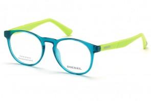 Lunettes de vue Diesel DL5301 087 - Turquoise/Vert pomme