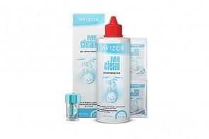 Produits d'entretien pour lentilles de contact Ever Clean 30 jours - 1 flacon de 225ml + 30 comprimés