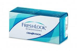 Verres de contact Freshlook Dimensions 2l