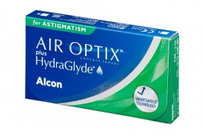 Air Optix Plus Hydraglyde For Astigmatism 6L