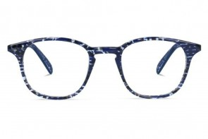 Lunettes de vue Jeack and Francis Glendale 46mm Blackish Blue - vue de face