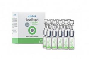 Produits d'entretien pour lentilles de contact Lacrifreash Comfort - 20 unidoses de 0,4ml 0,2%