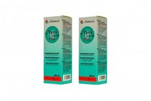 Produits d'entretien pour lentilles de contact Menicare Plus - 2 flacons de 250ml