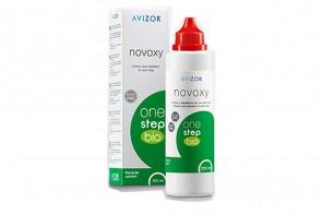 Produits d'entretien pour lentilles de contact Novoxy One Step Bio - Flacon de 255ml + 30 comprimés