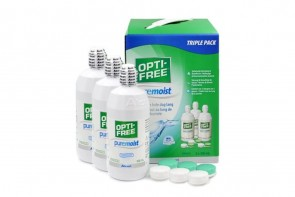 Opti-Free Puremoist - 3 flacons de 300ml
