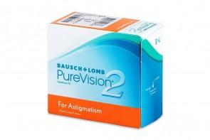 Verres de contact Purevision 2 HD Toric
