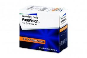 Verres de contact Purevision Toric