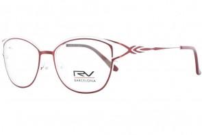 Lunettes de vue h.Mahéo RV643 - 53mm - Rouge/Blanc