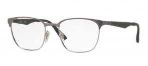 Ray-ban RX6356 2974 52mm - Top Brushed gunmetal on silver