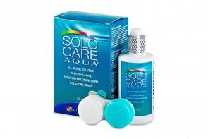 Produits d'entretien pour lentilles de contact Solo Care Aqua - Flacon de 90ml