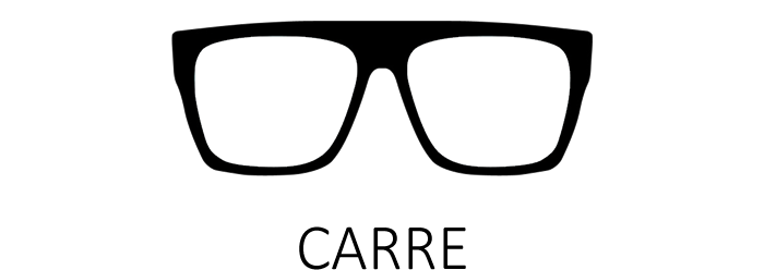 Lunettes de vue carrées