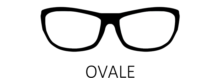 Lunettes de vue ovale