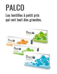 Lentilles de contact Palco