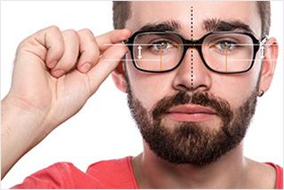 488264ad5f En effet, avec la mesure des écarts pupillaires, celle de largeur et celle  du pont permettront de déterminer la position des yeux dans les lunettes,  ...